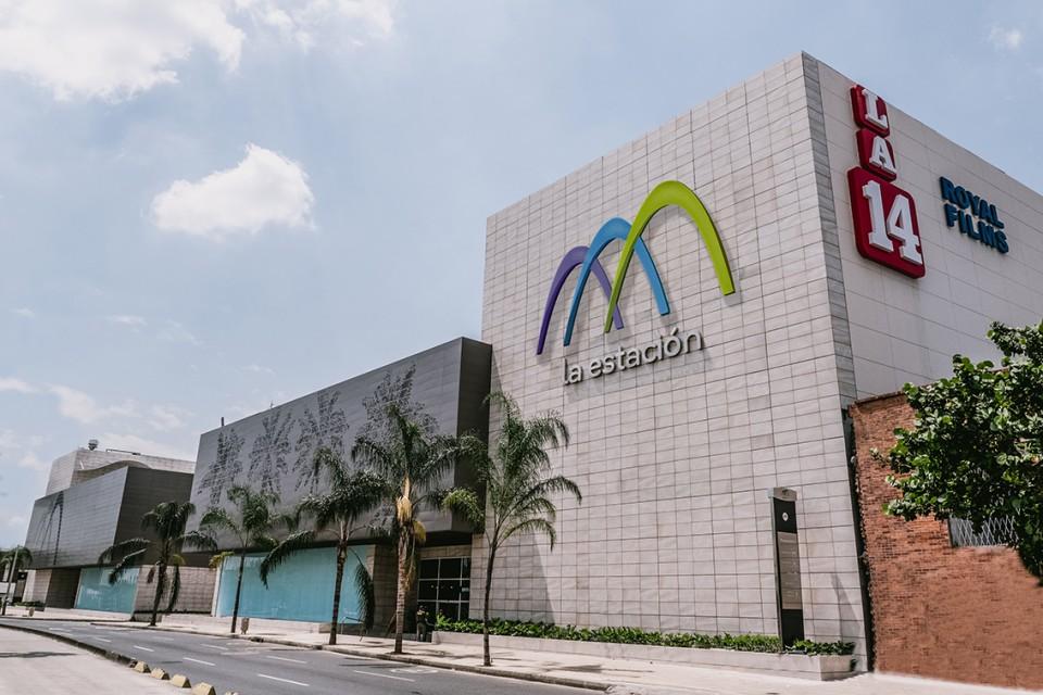 Estructura del Centro Comercial La Estación